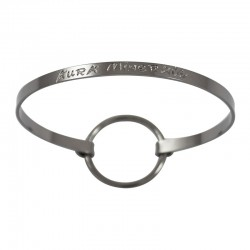 "Thin Ribbon Bracelet ""Aura Minérale"""