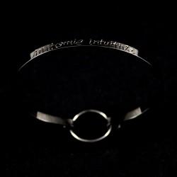 """Bracelet Ruban """"Anatomie Intuitive"""""""