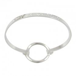 "Bracelet Ruban fin ""Étoile de Vie Filante"""