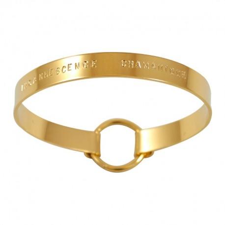 "Bracelet Ruban moyen ""Incandescence Chamanique"""