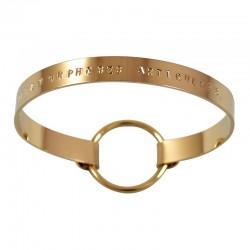 "Bracelet Ruban ""Métamorphoses Articulées"""