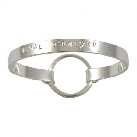 "Bracelet Ruban moyen ""Signal d'Amour"""