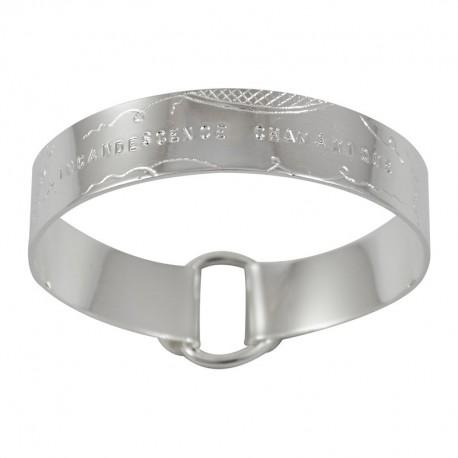 "Bracelet Ruban large ""Incandescence Chamanique"""