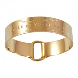 """Large Ribbon Bracelet """"Étoile de Vie Filante"""""""