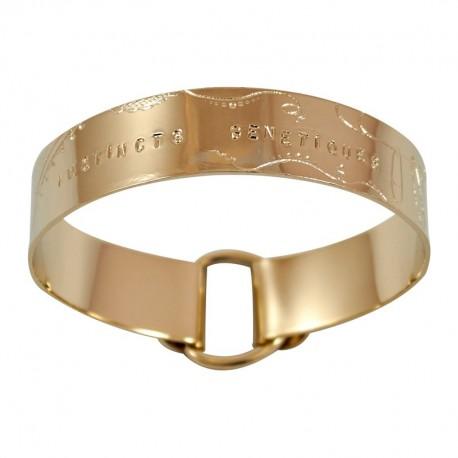 """Bracelet Ruban large """"Instincts Génétiques"""""""