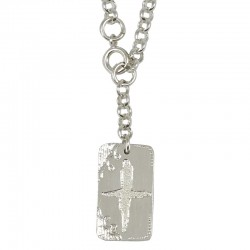 Engraved Plate Necklace