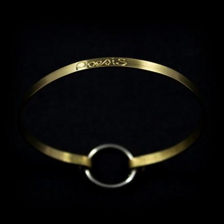 """Bracelet Ruban fin """"Poesis"""""""