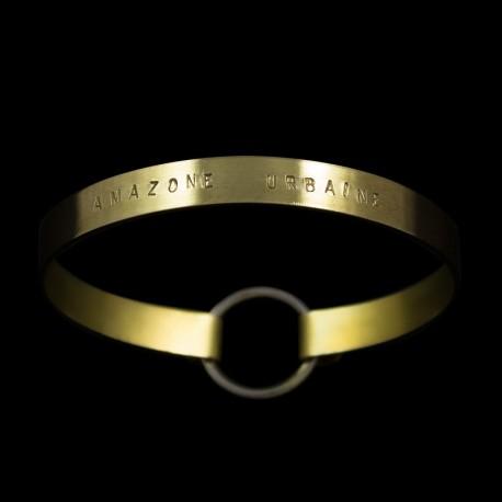 "Bracelet Ruban moyen ""AmazoneUrbaine"""